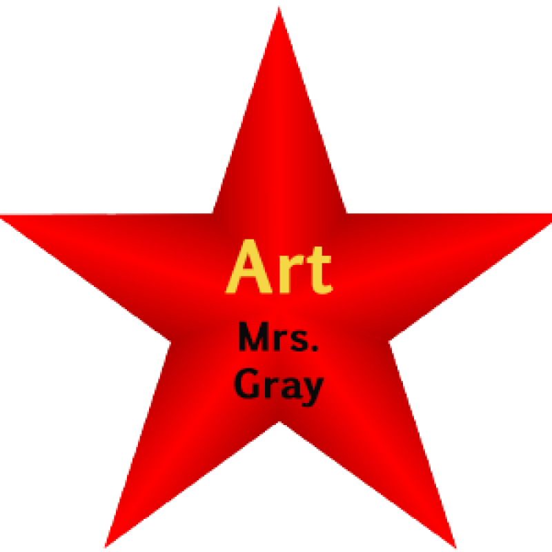 Red Star Art Graphic