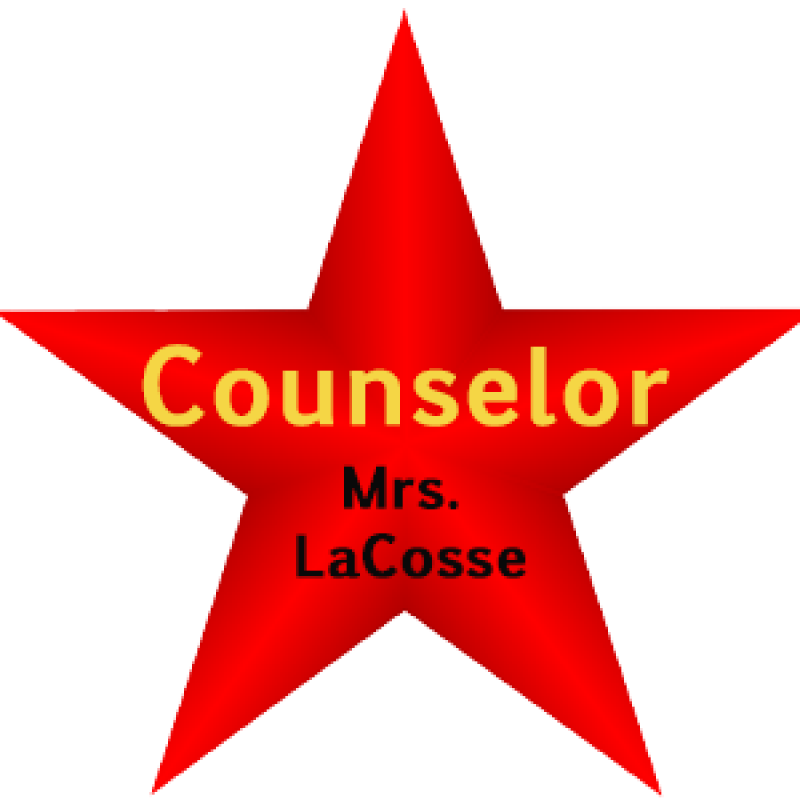 red star counselor graphic
