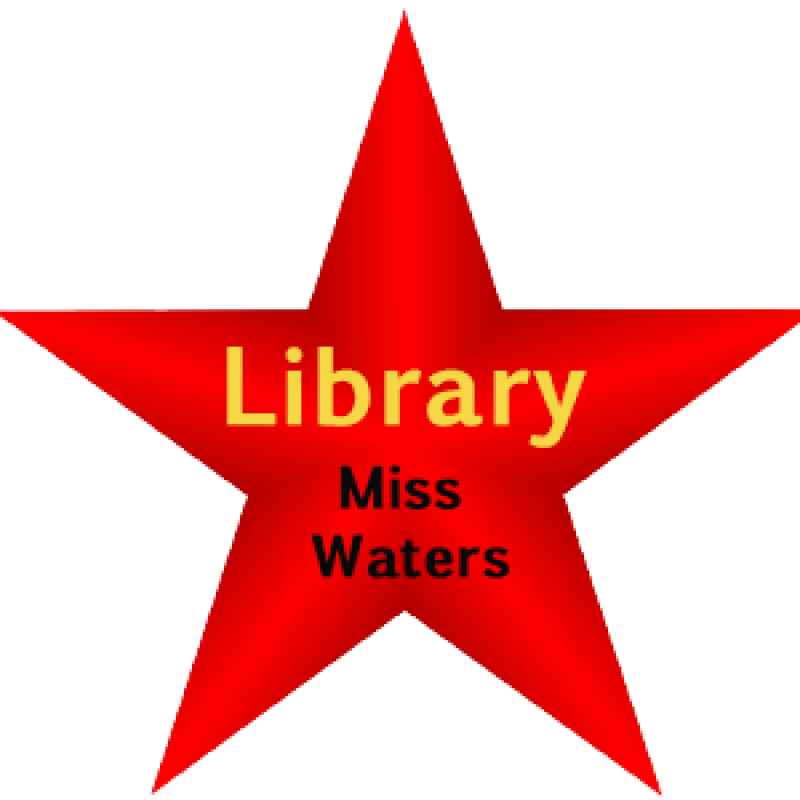 Red Star Library Graphic