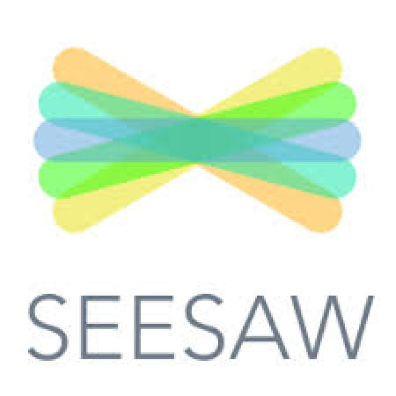 Seesaw bowtie icon